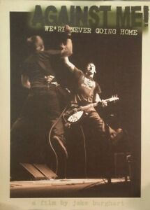 Against Me!: We're Never Going Home (DVD) Documentary / Live Show / Tour