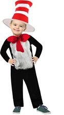 Kids Book Week Storybook Cat in the Hat Dr Seuss Child Costume