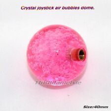 40mm Crystal Bubble Ball Top Handle Rocker Dome Replace For Sanwa Joystick Pink