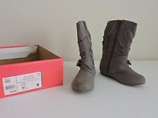 Jumping Beans Toddler Girls Dress Boots Curtsy Grey Slouch Toddler Size 9 New JB