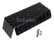 Club Car DS Golf Cart (Black) Diamond Plate Front Bumper .125 ga. 82-up