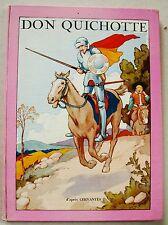 Don Quichotte de la Manche CERVANTES & ill THEAKER éd Agence Française de Presse