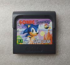Sega game gear ► Sonic The Hedgehog ◄ Cartouche PAL EUR