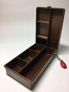 NPK NAKAPACK Fly Box Tackle Box 4 compartments 35~45x80x135mm Vintage