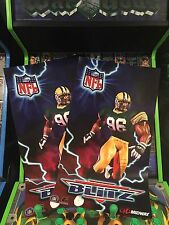 NFL Blitz Arcade Conversion Side Art Artwork Decal Overlay CPO Midway