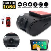 FHD 1080p USB Coche DVR 170 ° Oculto Cámara Vídeo Guión Leva carretera G-Sensor
