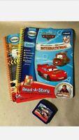 Vtech Create a Story Book Disney Pixar Cars Radiator Springs International Lot