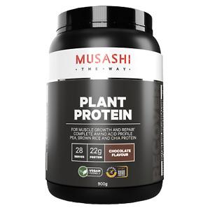 MUSASHI Plant Protein 900 g,  28 Serves