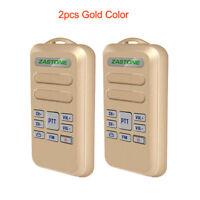 2Pcs Zastone Mini6 Two Way Radio Walkie Talkie 400-470MHz Portable 16 Channels