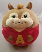 Ty Beanie Baby Ballz Alvin and the Chipmunks Large Round Plush Stuffed Animal