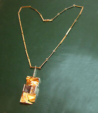 Mächtiges LAPPONIA JANUS 585er GOLDCOLLIER m. STEINEN • 34,45 g Goldkette