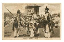 ERITREA FANTASIA MASCAL AFRICA ORIENTALE COLONIE D'ITALIA INDIGENI ANNI '30