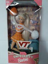 Virginia Tech University Barbie Cheerleader Doll