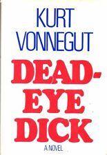 KURT VONNEGUT - SIGNED FIRST EDITION/1ST PTG - DEADEYE DICK Delacorte 1982 hc ed