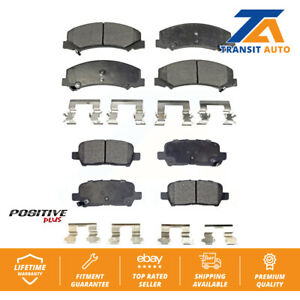 Front Rear Semi-Matllic Brake Pads Pair Chevrolet Impala Limited