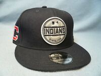 New Era 9Fifty Cleveland Indians Circle Patch Snapback BRAND NEW hat cap MLB