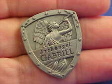 ARCHANGEL ST GABRIEL Pocket Token Protection Saint Medal SHIELD By Angel Star