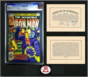 Iron Man #129 CGC 9.4 | Marvel 12/1979 WP Mile High II Pedigree Newsstand