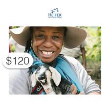 $120 Charitable Donation HEIFER INTERNATIONAL: Gift of Goat