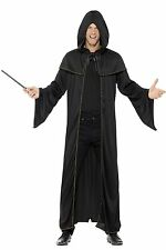 Smiffy's 45605 Adult Wizard Cloak Black