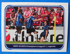 PANINI CHAMPIONS LEAGUE 2010/11 - N.551 - INTER - CHAMPIONS LEAGUE 2009/10