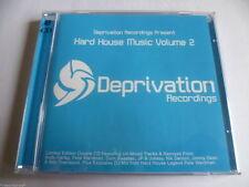 Hard House Music Vol 2 *BRAND NEW* Double CD. Hard Trance / Hard NRG *FREE POST*