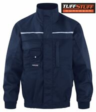 Mens TuffStuff Pro Work Hard-Wearing Bomber Jacket REDUCED RRP £35 M-XXL