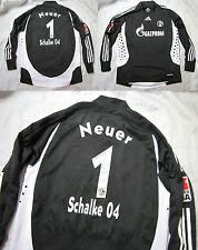 Manuel Neuer #1 Schalke 04 Gelsenkirchen Portero Camiseta Adidas Adulto Tamaño XS