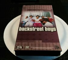 Backstreet Boys For The Fans VHS Video Larger Than Life I Want It That Way Pop