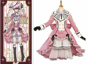 New!Black Butler Anime cos Clothes Ciel Phantomhive COSPLAY Costume Dress!a