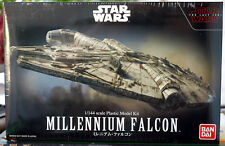 Star Wars Millenium Falcon The last Jedi 1:144 Bandai 219770 neu 2017
