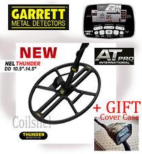 "Nel Thunder 14.5""x10.5"" Dd search coil for Garrett Atpro + Gift Cover Case"