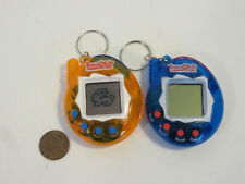 TAMAGOTCHI CONNECTION 168 IN 1 X 2 ORANGE & BLUE TESTED WORK GREAT KO 2 SYSTEMS