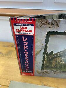 LED ZEPPELIN IV JAPAN P-6519A LP