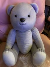 BIG Cardcaptor Sakura Clear Card Syaoran Li Bear Stuffed Plush Toy Grey Japan
