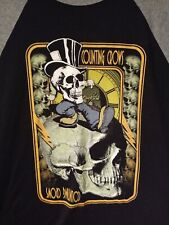 Counting Crows Long Sleeve Skull T-shirt sz L