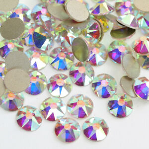 AB-CRYSTAl - NO-HOTFIX A+++16 FACETS GLASS RHINESTONE SS20 144pcs
