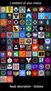 Destiny 2 - One Emblem of your Choice [PC/XBOX/PS] - Read Description