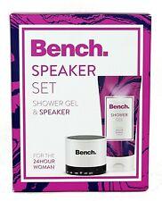 Bench Bluetooth Speaker & 150ml Shower Gel Gift Set Valentines Birthday Present