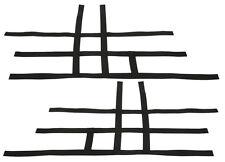TRX 700XX Nerf Bar Nets   Alba Tusk      Black    F