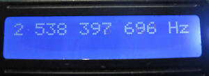 FREQUENCY COUNTER 3.4 GHZ 1 HZ RESOLUTION