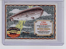 Hindenburg Airship schedule 1937 - 50th anniversary limited edition by Superior