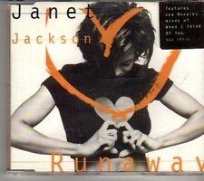 (CT135) Janet Jackson, Runaway - 1995 CD