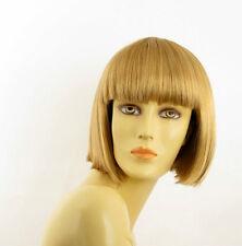 Perruque femme courte blond doré ELISA 24B