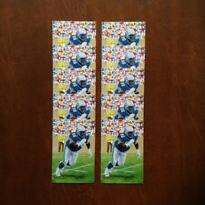 Cortez Kennedy Seattle Seahawks Lot of 10 unsigned Goal Line Art Cards