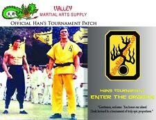 "Bruce Lee ""Enter The Dragon"" Han's Tournament Patch - certificate, Autographed"