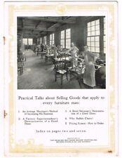 1900s DEAN HICKS Furniture Co. Grand Rapids MI salesman's promotional brochure
