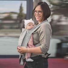 LIMAS Babytrage | Stone | Neues Modell 2018 | inkl. Brustgurt | Baby Carrier