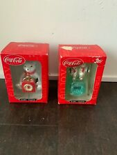 Coca Cola Mini Clocks Lot Of 2 NIB