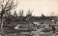 Real Photo Postcard Resident Section after Tornado in Tyler, Minnesota~111301
